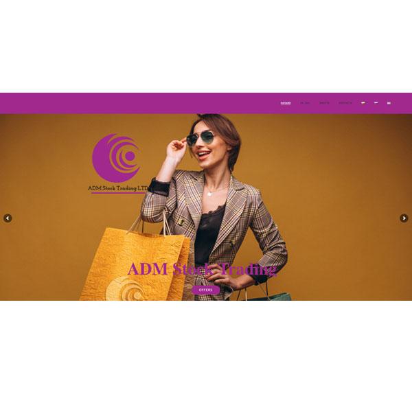 Изработка и оптимизация на сайт за ADM Stock Trading