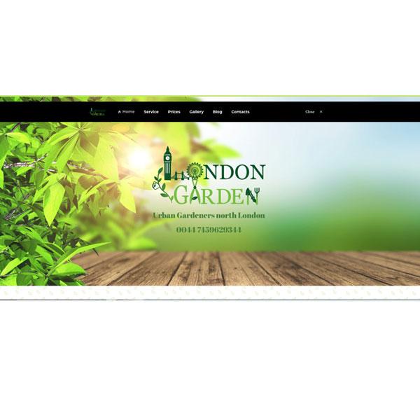 """Изработка и оптимизация на сайт за """"Urban Gardeners North London"""