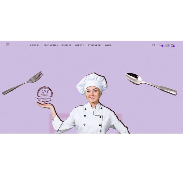 Изработка и оптимизация на сайт за Симона-Фуудс