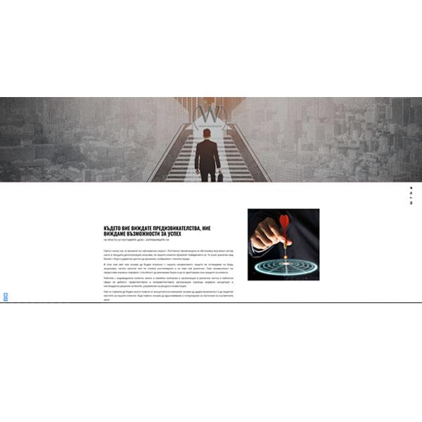 Изработка и оптимизация на сайт за Professional-Consult Ltd